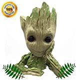 Groot Flower Pot Plant Pen Holder Succulent Planter | Guardians of The Galaxy | Action Figure | Cute Gift | Genuine