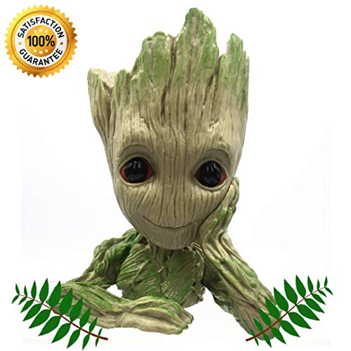 Groot Flower Pot Plant Pen Holder Succulent Planter   Guardians of The Galaxy   Action Figure   Cute Gift   Genuine by TIWD Design