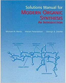 buy modern organic synthesis solutions manual book online at low