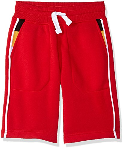 Southpole Boys Jogger Shorts in Basic Solid Colors and Fleece Fabric