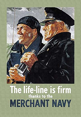 The Life-Line is Firm, Thanks to the Merchant Navy for sale  Delivered anywhere in USA