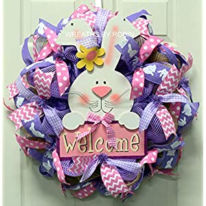 Easter Greeting Wreath, Easter Wreath (3690) 94
