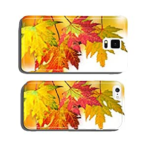 Golden Autumn: Falling, colorful leaves cell phone cover case iPhone6 Plus