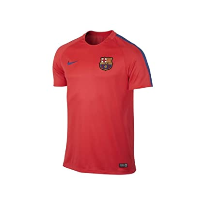 c079890c0 Amazon.com   NIKE Mens FC Barcelona Pre-Match Jersey-Bright Crimson ...