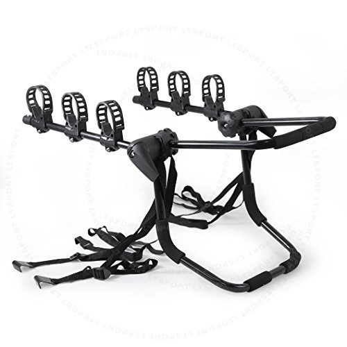 - LT Sport SN#100000000133-309 Rear Trunk Mount 3 Bike Carrier Rack for 96-03 Chevrolet