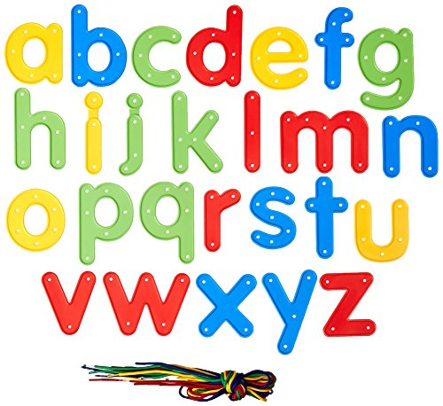 Center Enterprise CE6903 READY2LEARN Upper/Lower Lacing Alphabets Combo (Pack of 52)