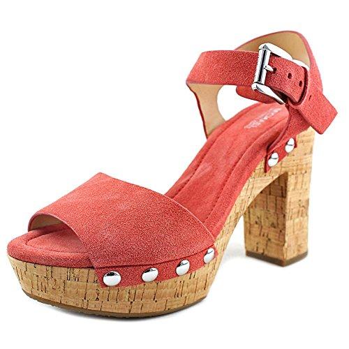 MICHAEL Michael Kors Women's Hayden Platform Sandals, Cinnamon, 5 B(M) US
