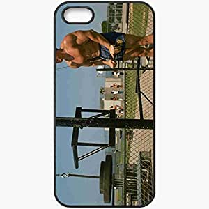Personalized iPhone 5 5S Cell phone Case/Cover Skin Arnold schwarzenegger arnold schwarzenegger actor producer Black