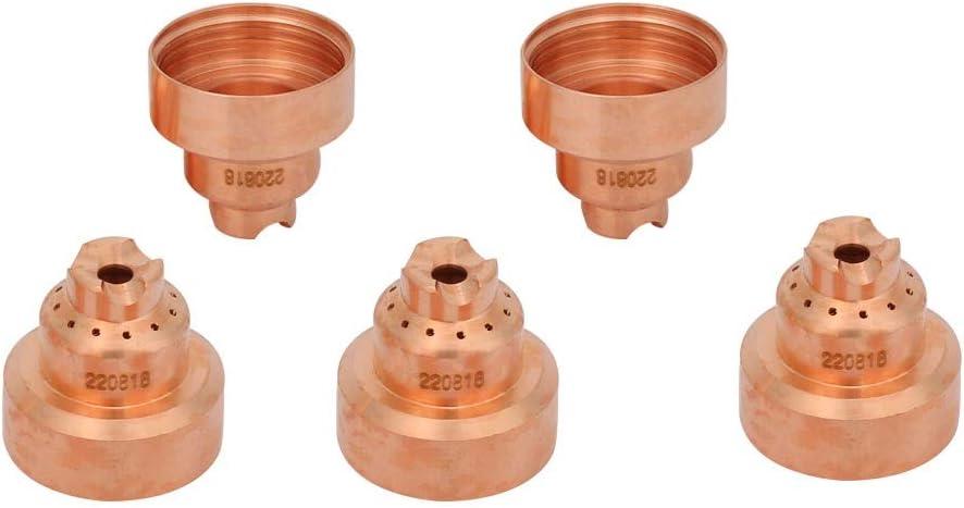 220818 Capuchon de protection Contre le Plasma pour le Capot de Protection MAX65 85//105 5Pcs // Ensemble Torche de Coupage au Plasma