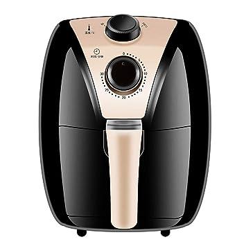 KTM Freidora de Aire, 1200W casa freidora eléctrica Inteligente, 2.6 l máquina de Patatas Fritas de Gran Capacidad, Que Contiene Recetas, Cocina Saludable ...