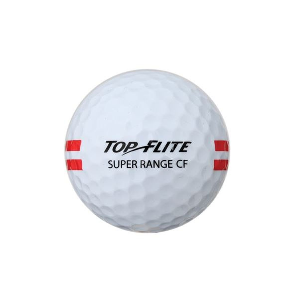 24 Pack Top Flite Super Range Restricted Flight Golf Balls - White by Top Flight