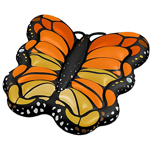 Swimline Giant Monarch Butterfly Floating Lounge Island for Swimming Pools