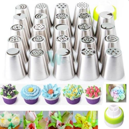 Icing Piping Nozzles Tips Cake Decorating Pastry Baking Tool from Unknown
