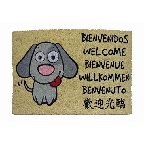Koko doormats Paillasson Chien Bienvenue, Coco, 60x 40 kook time 050565