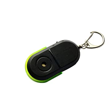 In Style; Whistle Sound Led Light Anti-lost Alarm Key Finder Locator Keychain Device Fashionable