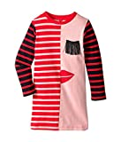 Stella McCartney Kids Baby Girl's Kora Striped Dress w/ Fringe Eyelash Detail (Toddler/Little Kids/Big Kids) Pink 8