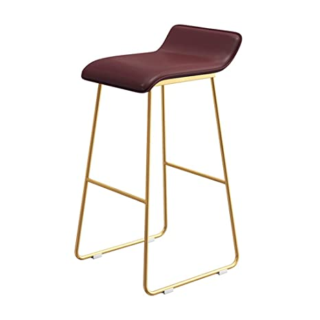 Swell Amazon Com Zzmop Iron Bar Stool Bar Stool High Chair With Unemploymentrelief Wooden Chair Designs For Living Room Unemploymentrelieforg