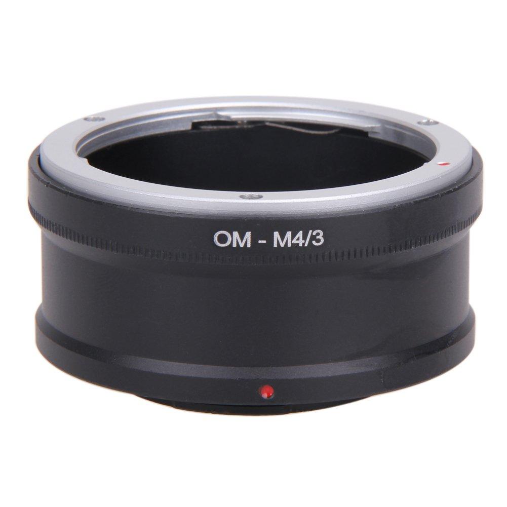Prettygood7 Om-m4/3 Bague d'adaptation pour Objectif Olympus Om vers Micro43 Camera Om-D E-M5 E-PM2