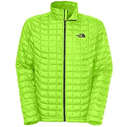 The North Face Mens Thermoball Full Zip Jacket,Power Green,US L