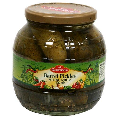 Barrel Pickles - Kuhne Gundelsheim Barrel Pickles 6x35.9 OZ