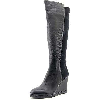 Amazon.com   Vince Camuto Women\'s Kaelen Wedge Boots, Black ...