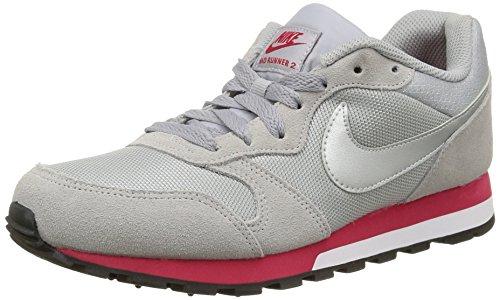 Nike Womens Wmns Md Runner 2 Sample, Grigio / Cool Grigio / Rosa Grigio / Grigio Freddo / Rosa