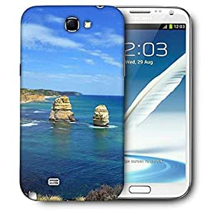 Diseñador Snoogg Teléfono protector de la cubierta del caso para Samsung Galaxy Note 2