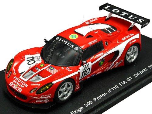 1/43 ロータス エクシージュ 300 プロトン FIA GT ZHUHAI DUNLOP #110(レッド×ホワイト) S1221