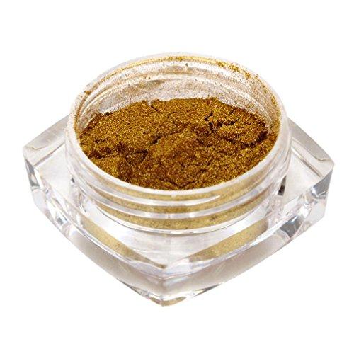 Sexy Rose Gold Nail Mirror Powder, Glitter Chrome Powder Art