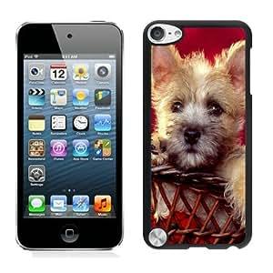 Customization Christmas Doggy Black iPod Touch 5 Case 1