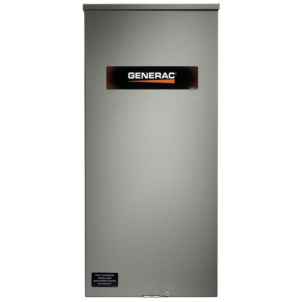 Generac RXSW200A3F 200 Amp Service Rated Automatic Transfer Switch with 8 Circuit Load Center