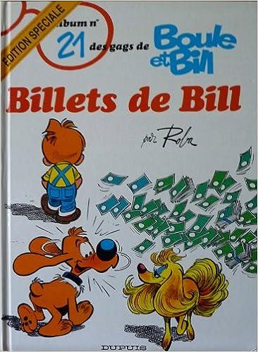 En ligne téléchargement gratuit Boule et Bill, tome 21 : Billets de Bill pdf