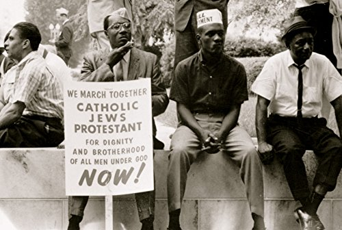 Posterazzi Poster Print Collection the Civil Rights March from Selma to Montgomery Alabama in 1965, (18 x 24), Multicolored (The March From Selma To Montgomery 1965)