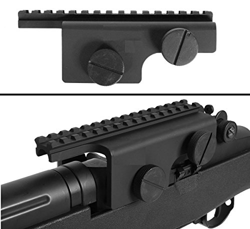 Ultimate Arms Gear Tactical Heavy Duty Scope Sight Red Dot Weaver Picatinny Rail Mount For The M14 M-14 M1A & Norinco M305 Battle Rifle
