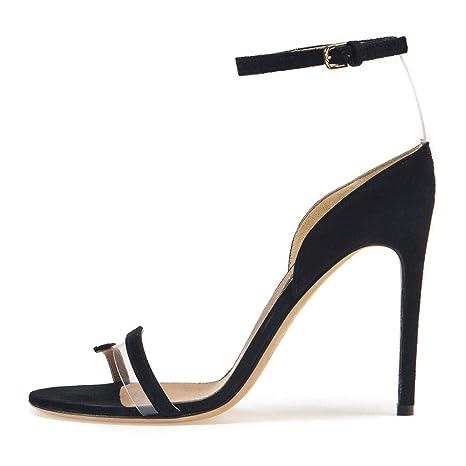 3b8d1f04c7219 Amazon.com: FCXBQ High Heel Sandals, Stiletto Pumps Open Toe Sandals ...