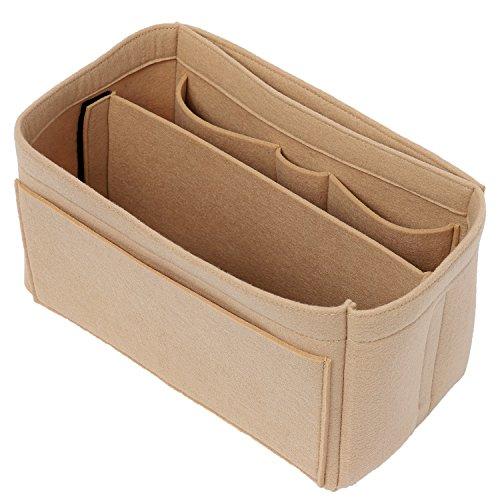 [New Style] Luxury Felt Purse Organizer, Bag Organizer, Handbag Tote Bag Insert Organizer for Speedy Neverfull Longchamp, 3 Sizes by X-GIFT (Image #4)