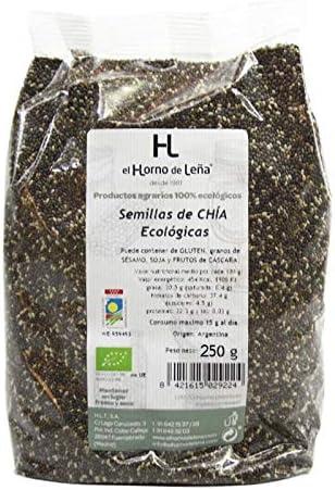 Horno de Leña Semillas De Chia Eco 250 g: Amazon.es: Alimentación ...