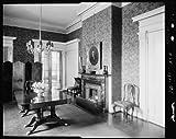 Photo: Glasgow House, 1 Main Street, fireplace, Richmond, Virginia, Architecture, 1930 1 . Size: 8x1