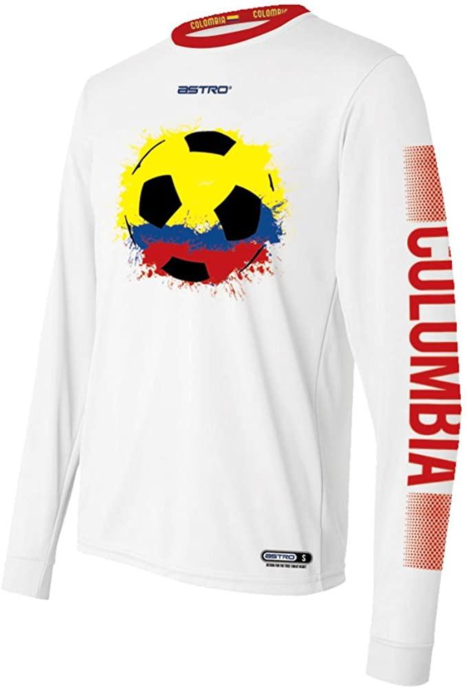 Astro 2018 World Cup Colombia Long Sleeve Soccer Shirt