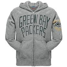 Green Bay Packers - Mens Sunday Zip Hoodie
