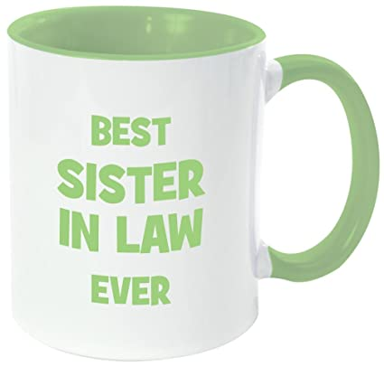 Amazoncom Rikki Knight Best Sister In Law Ever Funny Quotes