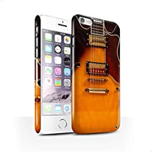 STUFF4 Hard Back Snap-On Phone Case for Apple iPhone 6 / Semi Acoustic Design / Guitar Collection