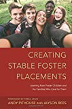 img - for Creating Stable Foster Placements: Learning from Foster Children and the Families Who Care For Them by Alyson Rees (2014-11-21) book / textbook / text book