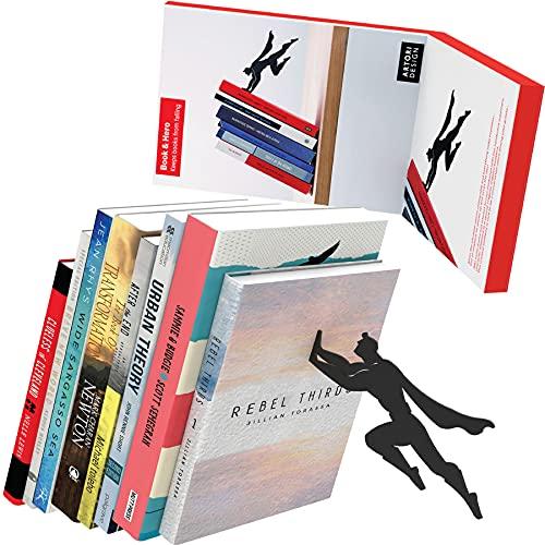 sujeta libros decoracion edicion superheroe