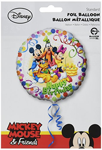 Anagram International HX Mickey and Friends Party Packaged Party Balloons, (Goofy Balloons)