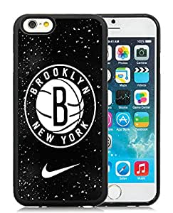 Brooklyn nets New York 02 Black Hottest Sell Customized iPhone 6 4.7 Inch TPU Case
