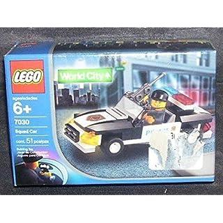 LEGO World City Squad Car, 7030, 51 Pieces, Police