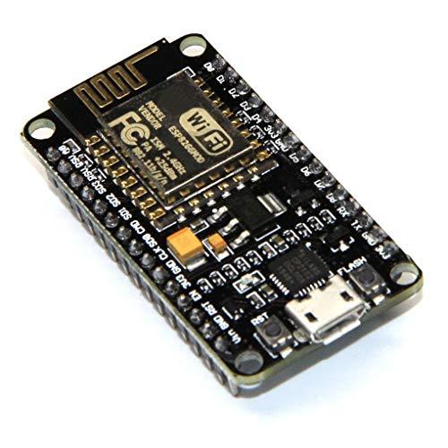 ESP8266 NodeMCU LUA CP2102 ESP-12E Internet WIFI Development Board Compatible for Arduino IDE/Micropython (Best Ide For Lua)