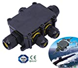 5 Way IP68 Waterproof Electrical Cable Wire Connector Junction Box UK