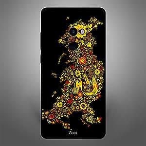 Xiaomi MI MIX 2 Yellow Flowers